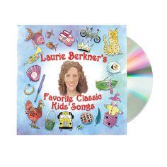 Laurie Berkner's Favorite Classic Kid's Songs - Double CD