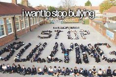I'm not lookin forward to going bck to school all I've been is bullied practically ever since I was little and now schools starting so that means more head down for me and being shy around others . Please help stop bulling if ur a bully honk before u do or say u could be the reason people cut or be in deep depression