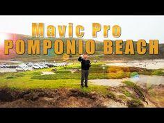 Mavic Pro - Pomponio Beach - California - YouTube