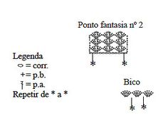 POR EQUIPE CIRCULO     ,                               Material: FioAnne – 4 nov. azul (2790);  Agulhapara crochênº 1,75;  1 ziper azul ...