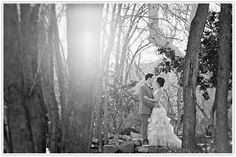 Winter Wedding at L'Auberge  Photo by Drew and Megan Photography