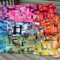 Fabrics N Quilts Scrap Quilt Contest 2012 Free Form Quilt WIP Report