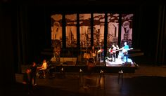 "Behind the scenes:  A ""Midtown Men"" sound check in progress on The Palace Theatre Stamford's Harman Stage"