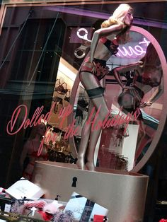 Beautiful Window Displays!: agent provocateur