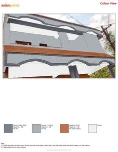 Exterior Color Combinations, Exterior Colors, House Plans, Building, Houses, Painting, Homes, Exterior Paint Colours, Buildings