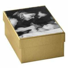 A Memory Box to give during their engagement, to keep all wedding planning mementos // Engagement Gift Ideas