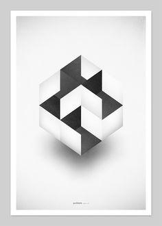 heksa, geometric tattoo