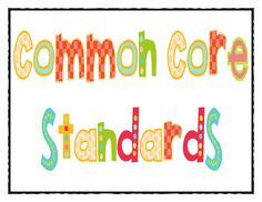 Mrs Jump's class: common core standards for first grade