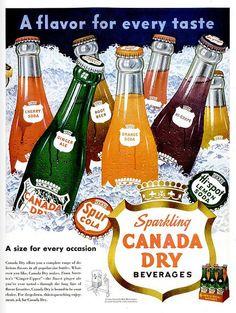 vintage ad canada dry beverages by killingtime2, via Flickr