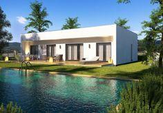 Bungalov Virgo 97 Atrium, Samos, Home Fashion, Virgo, Mansions, House Styles, Home Decor, Simple Lines, Decoration Home