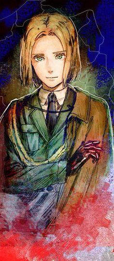 Hetalia (ヘタリア) - Poland (ポーランド)<<----He looks like Eren and Armin's love child!