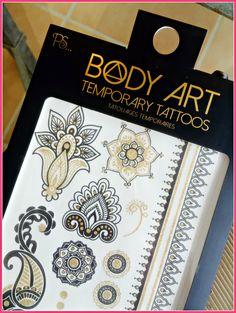 Primark Temporary Tattos. Summer beauty trend.
