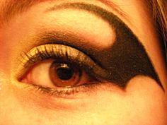 Batgirl makeup for Halloween