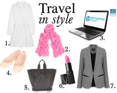 Our travel essentials! Pin your own travel style board to win a new Envy 4 Touchsmart Ultrabook! Head here to enter: http://theglitterguide.com/2013/04/23/envy-4-touchsmart-ultrabook-pin-your-style-giveaway/