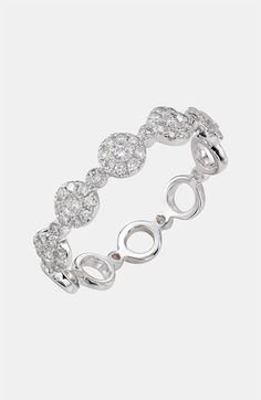 Bony Levy Round Diamond Stackable Ring <3<3