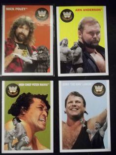 2006 Topps Heritage WWE Series II   Lot of 4    # 83, 84, 85, 86