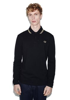 L/S Twin Tipped Fred Perry Shirt (Made in England) | FRED PERRY JAPAN | フレッドペリー日本公式サイト