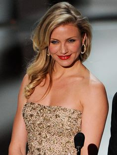 cameron diaz hair, i want!