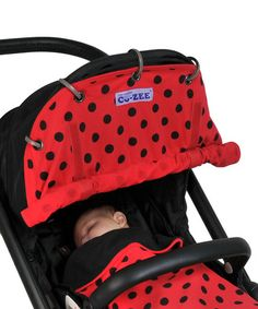 Look what I found on #zulily! Ladybug CO-ZEE Car Seat/Stroller Cover by CO-ZEE #zulilyfinds