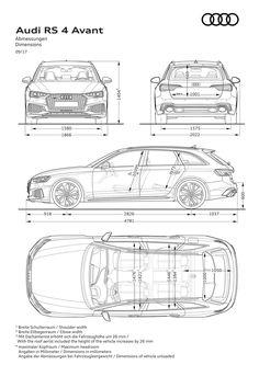 Audi Car Art Poster Print on 10 mil Archival Satin Paper White Spec Sheet View Audi A3 Sportback, Audi Rs4, Audi Q7 Interior, Audi 2017, Audi A3 Limousine, Audi A6 Avant, Car Drawings, Transportation Design, Automotive Design