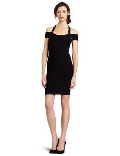 BCBGMAXAZRIA Women's Sequin Halter Strap Dress, « Dress Adds Everyday