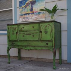 Painted Furniture | Chalk Paint Furniture~Annie Sloan / Shades of Amber: Chalk Paint Color ...