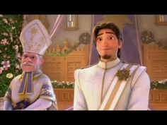 Rapunzel & Eugene Marriage - Never seen this! TOO FUNNY!