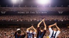 Over 50,000 people showed up tonight for the largest Midnight Yell ever. BTHO bama!
