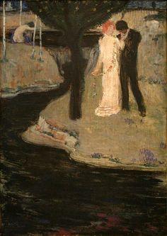Jan Preisler - Milenci (1904)