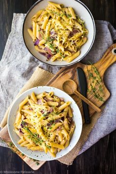 one-pot-french-onion-pasta-bake-gluten-free-vegetarian-dinner-easy-meals-on-a-budget -gluten-free-healthy