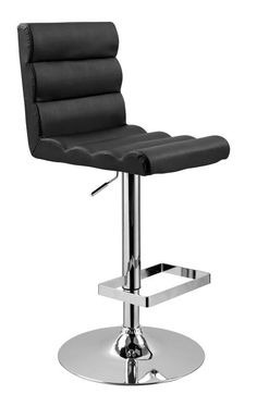 Eco-Leather Contemporary Barstool