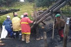 Rescatan cuerpo sin vida tras derrumbe en mina de Lenguazaque
