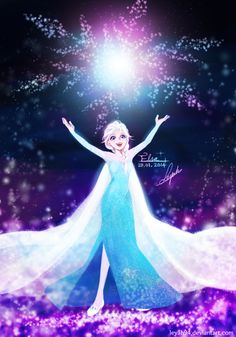 Frozen - Elsa by LeyaH94 on deviantART