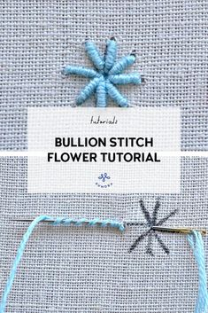 Hand Embroidery Patterns Flowers, Hand Embroidery Videos, Embroidery Stitches Tutorial, Embroidery Flowers Pattern, Simple Embroidery, Embroidery Hoop Art, Embroidery Techniques, Simple Flower Embroidery Designs, Back Stitch Embroidery