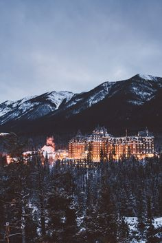 Adventure is out there — teapalm:   (Tasha Marie) | Banff Springs Hotel...