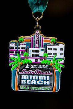 Rock n Roll Miami Beach Half Marathon 2012  Repinned by Fifty States Half Marathon Club™ http://www.halfmarathonclub.com - Another good possibility for the future