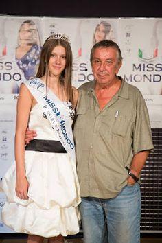 """FASHION FASHION Ilaria Bellini, vincitrice della tappa di Miss Mondo a Bagnara di Romaga, veste un capo della """"Collezione Incanta""""."""