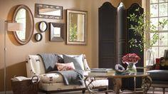 Home Design Mirror Home Decor Ideas DM Mirror Collage Home Living Room, Apartment Living, Living Spaces, Decorating Your Home, Interior Decorating, Interior Design, Decorating Ideas, Decor Ideas, Room Ideas