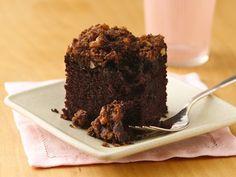 Gluten Free Zucchini-Devil's Food Snack Cake
