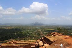 The view from the top, Sigiriya