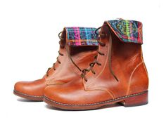 Andasolo handmade leather booties for women Made to by Andasolo