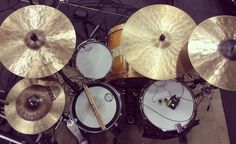 My drum head recipe - complete with my tuning guide that I've trusted to provide me with a sound that makes my sound engineer go wild.