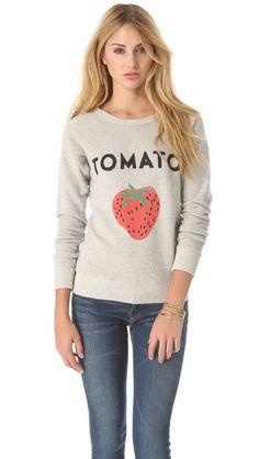 tomato sweatshirt