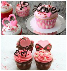 Cake nature fast and easy - Clean Eating Snacks Valentines Baking, Valentine Day Cupcakes, Valentines Day Gifts For Her, Mini Cakes, Cupcake Cakes, Best Valentine's Day Gifts, Salty Cake, Cake Tins, Savoury Cake