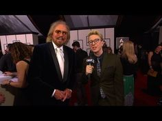 GRAMMY Awards - Who Does Barry Gibb Think Will Win Big at the GRAMMYs? - YouTube