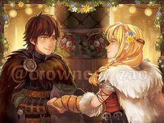 Dessins fanart Dragons, La Reine Des Neiges, Vice-Versa, etc ... < Hiccstrid. :)