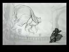 Beast Transformation - Glen Keane Pencil Test
