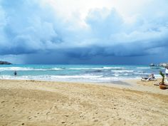 first rain cloud I ve ever seen in Malta   by John Lavelle - Photo challenge week 4