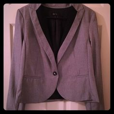 BCX single button blazer Tan with Black lapels, this is a great piece for jeans, a pencil skirt or even black pants. This jacket is new without tags. It is an XL but runs small. My loss is someone else's gain on this gem. BCX Jackets & Coats Blazers
