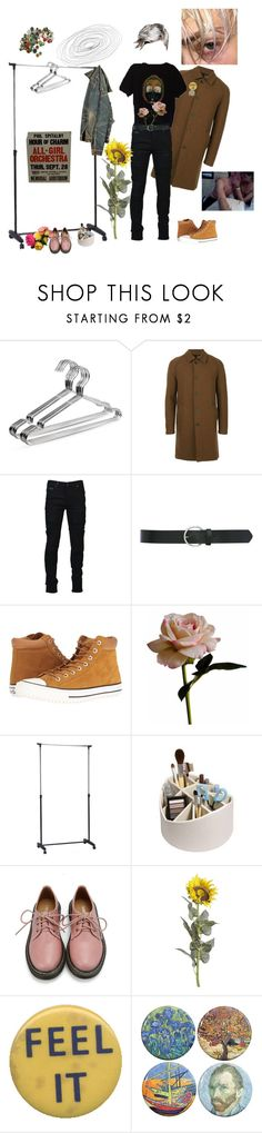 """Interesting Perspective"" by short-skirt-long-jacket ❤ liked on Polyvore featuring Harris Wharf London, Marcelo Burlon, M&Co, Converse, Abigail Ahern, Retrò and Pier 1 Imports"